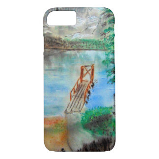 Lake with a Dock iPhone 7 Case