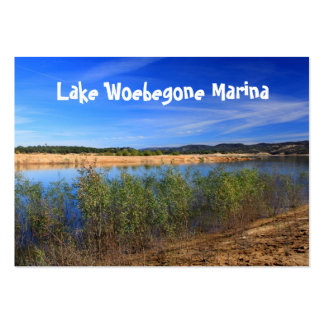 Lake Woebegone Marina Card Pack Of Chubby Business Cards