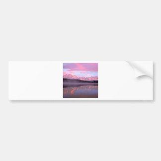 Lake Wonder Denali Denali Park Alaska Bumper Sticker