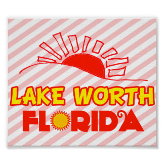 Lake Worth, Florida Posters