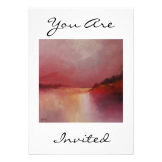 Lakeland Dawn in Oil You Are Invited Invitation