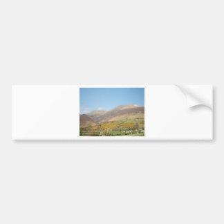 Lakeland Landscape of Majestic Skiddaw Bumper Sticker