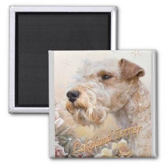 Lakeland Terrier Among Roses magnet