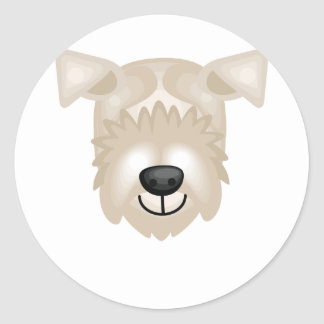 Lakeland Terrier Breed - My Dog Oasis Classic Round Sticker