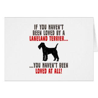 Lakeland Terrier Greeting Cards