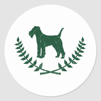 Lakeland Terrier Classic Round Sticker