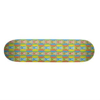 Lakeland Terrier Dog Cartoon Pop-Art Skate Deck