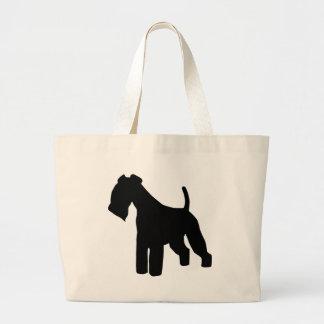Lakeland Terrier Gear Jumbo Tote Bag
