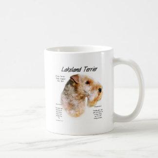Lakeland Terrier History Design Coffee Mug