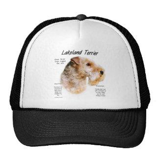 Lakeland Terrier History Design Trucker Hat