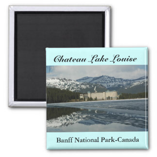 Lakelouise Square Magnet
