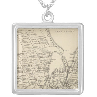 Lakeport, town of Guilford Silver Plated Necklace