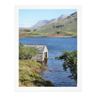 LAKES AND VIEWS WALES 21.5 CM X 28 CM FLYER
