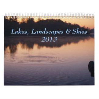 Lakes, Landscapes & Skies 2013 Wall Calendars