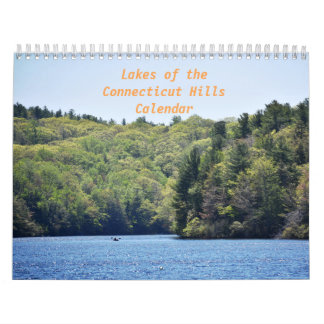 Lakes of the Connecticut Hills Calendar
