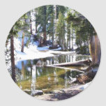 Lakes Trees Forrests Stickers