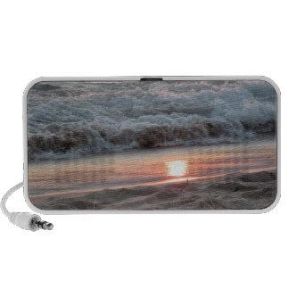 Lakeshore Sunset Portable Speakers