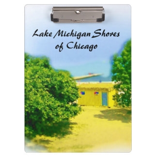 Lakeshores of Chicago Beach Clipboard