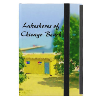 Lakeshores of Chicago Beach Cover For iPad Mini