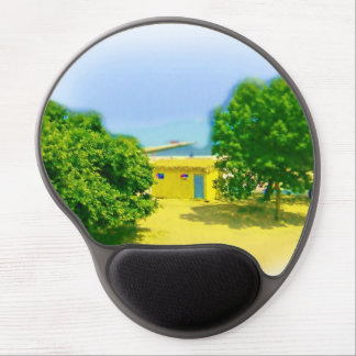 Lakeshores of Chicago Beach Gel Mouse Pad