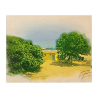 Lakeshores of Chicago Beach Wood Print
