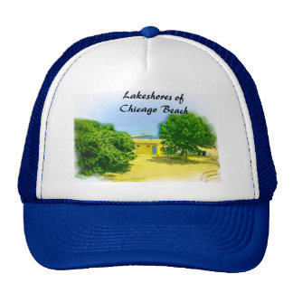 Lakeshores of the Chicago Beach Trucker Hat