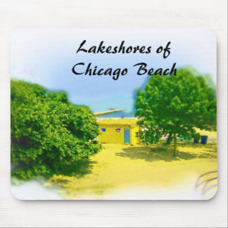 Lakeshores of the Chicago Beach Mouse Pad