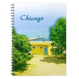Lakeshores of the Chicago Beach Spiral Note Books