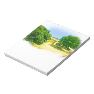 Lakeshores of the Chicago Beach Memo Note Pad