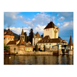 Lakeside Chateau Postcard