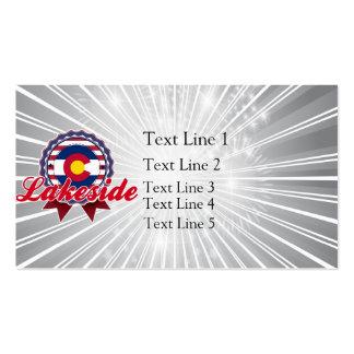 Lakeside, CO Business Card