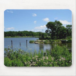 Lakeside Dreaming Mouse Pad