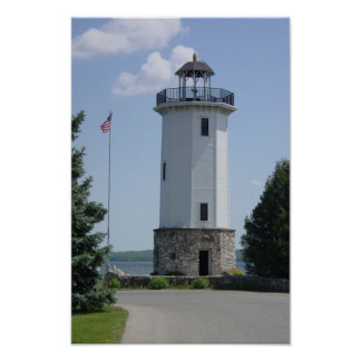 Lakeside Park Lighthouse Poster