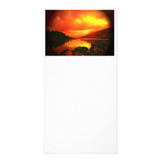 Lakeside Customized Photo Card