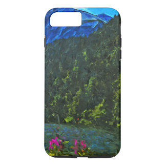 Lakeside Road to Seward Alaska Abstract iPhone 7 Plus Case
