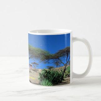 Lakeside scene at Lake Langano, Ethiopia Coffee Mug