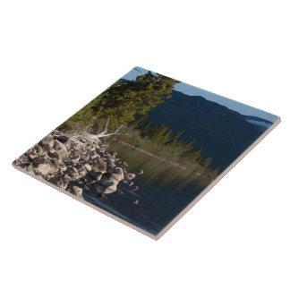 Lakeside Splendor No Text Ceramic Tile