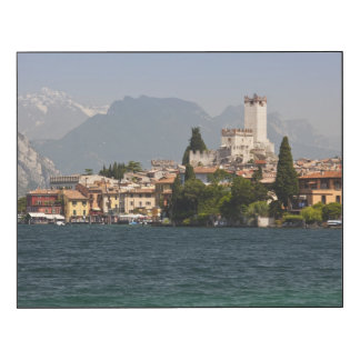 Lakeside town, Malcesine, Verona Province, Italy