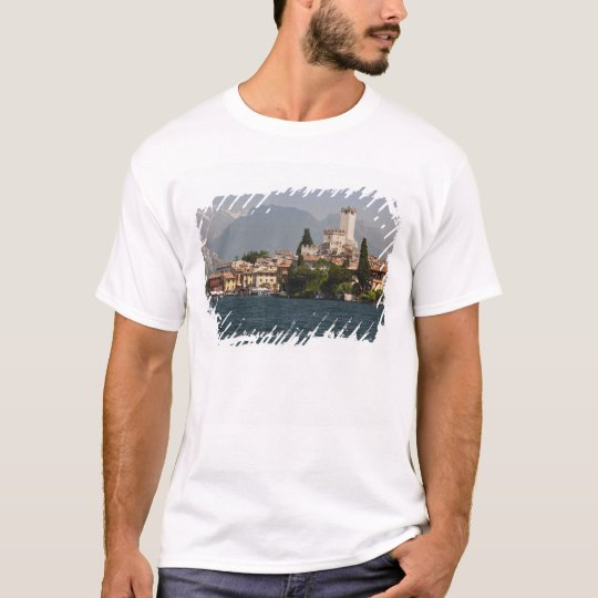 Lakeside town, Malcesine, Verona Province, Italy T-Shirt