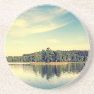 Lakeside Vintage Tree Line Drink Coasters