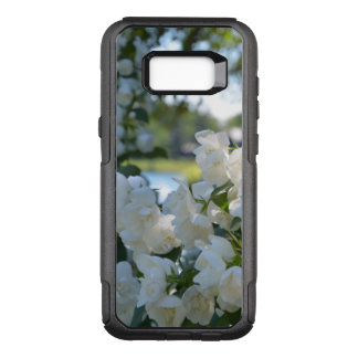 Lakeside White Flowers Samsung Galaxy S8+ Case