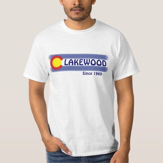Lakewood Colorado local flag value tee