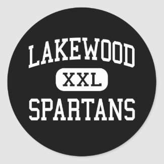 Lakewood - Spartans - High - Saint Petersburg Sticker