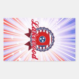 Lakewood, TN Rectangle Stickers