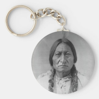 Lakota American Indian Chief Sitting Bull Key Ring