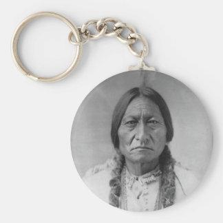 Lakota American Indian Chief Sitting Bull Key Ring