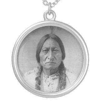 Lakota American Indian Chief Sitting Bull Custom Necklace