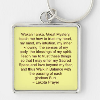 lakota prayer keychain