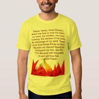 lakota prayer mens shirt