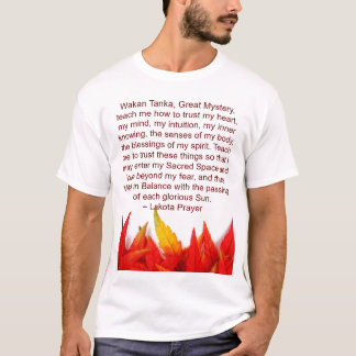 lakota prayer mens shirt